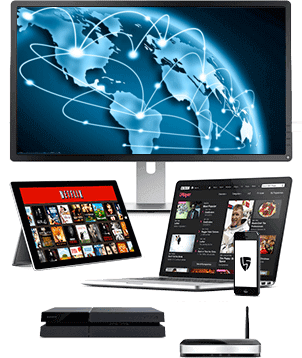 High speed VPN and Proxy Servers for all your devices.  Connect a VPN Router for extra security